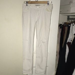 Acne White Jeans Size 26